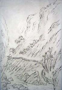 Shaofan Liu - Dessin au pinceau
