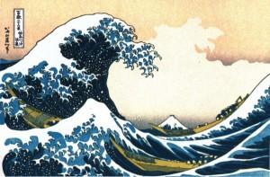 Hokusai - La Grande Vague de Kanagawa - Original