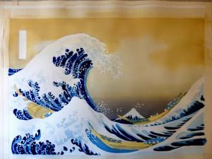 Hokusai - La Grande Vague de Kanagawa - Les couleurs