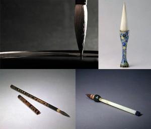 Les Quatre Trésors de la Peinture Chinoise - Les Pinceaux