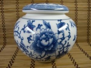Pivoine sur une céramique de la dynastie Ming