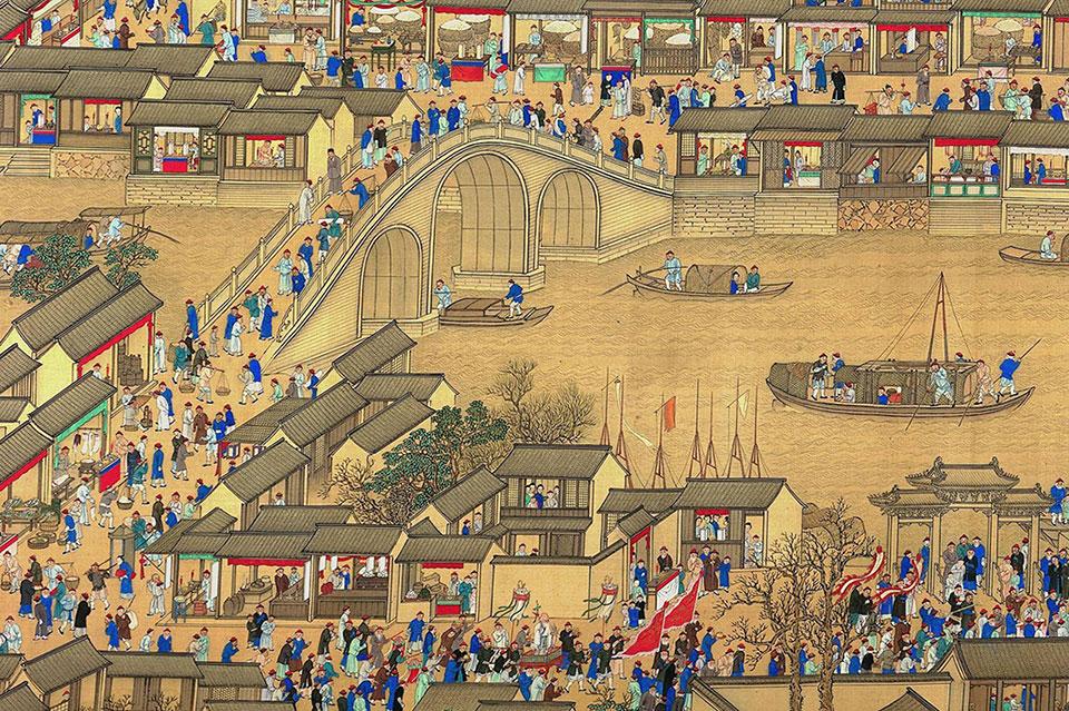 Civilisation chinoise - Yangzhou Grand Canal