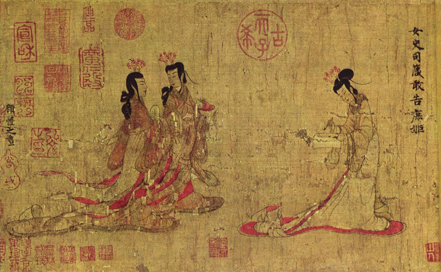 Gu kaizhi, le plus ancien peintre connu