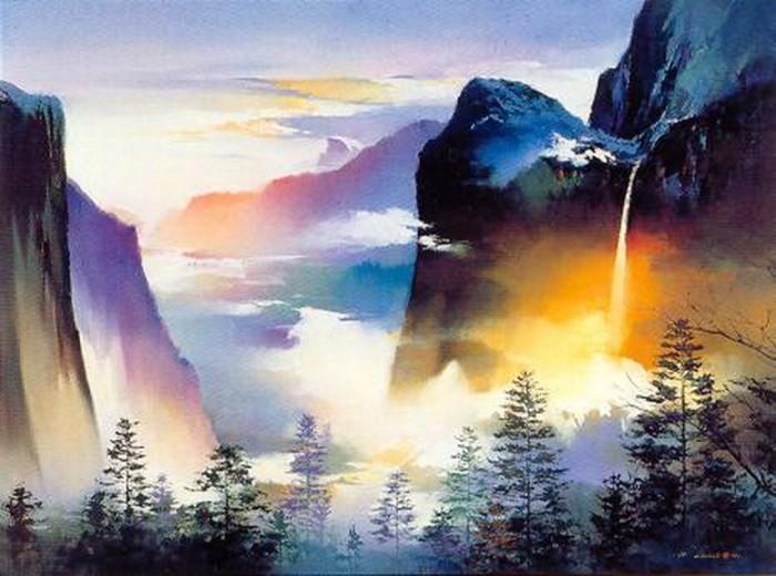 Hong leung coup de c ur pour un artiste chinois for Artiste peintre chinois