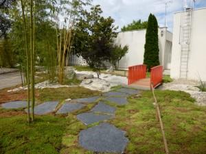 Naissance d'un jardin zen
