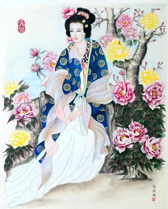 Concours de peinture traditionnelle chinoise