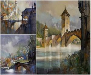 Thomas Schaller - Trois ponts en France