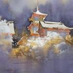 kyoto sous la neige kiyomizu