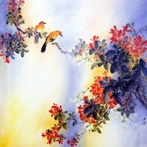 Respiration (Aquarelle chinoise)