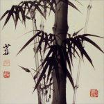 Comment peindre les branches de bambou