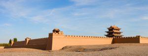 Grande muraille à Gansu