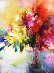 Elke Memmler - Fleur à l'aquarelle 1