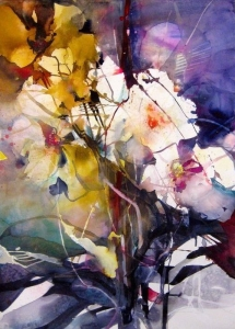 Elke Memmler - Fleur à l'aquarelle 4