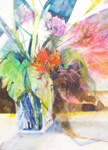 Elke Memmler - Fleur à l'aquarelle 5