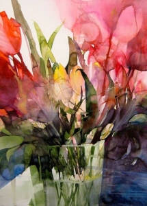 Elke Memmler - Fleur à l'aquarelle 6