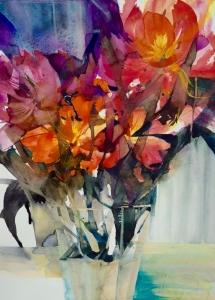 Elke Memmler - Fleur à l'aquarelle 7