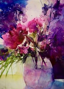 Elke Memmler - Fleur à l'aquarelle 8